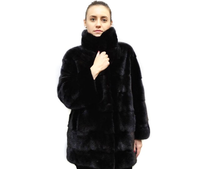 Woman's Fur Coat, Warm Fur Coat F149