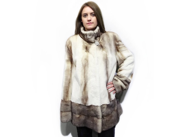 Sheared Fur Coat,Special Anniversary Gift F260