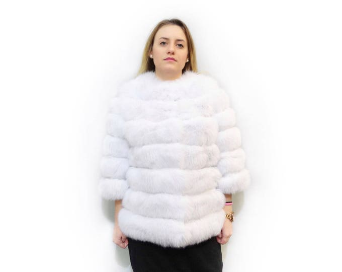 Luxury Bridal Fur Coat,Bridal Fur Stole  F507
