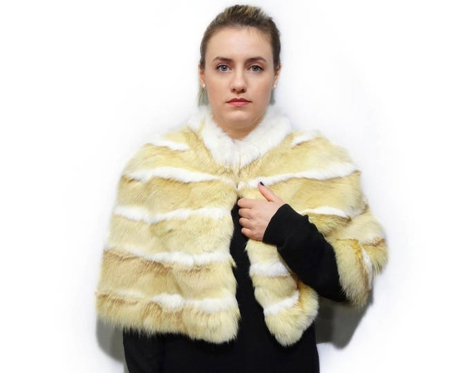 Rex Rabbit Fur Stole F786