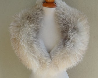 Large Raccoon Fur Collar F905