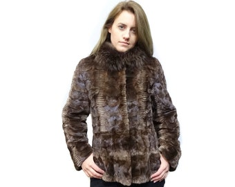 Fashion Fur Jacket in Many Different Colors F193