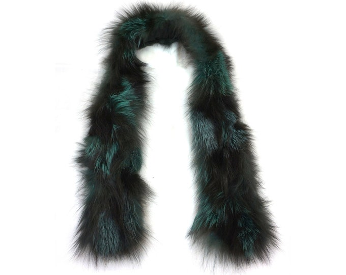 """Trendi"" Real Fur Scarf Fox F864"