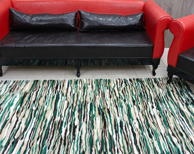 ColorFul Mink Fur Carpet