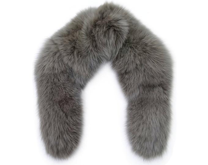 Real Big Fox Fur Scarf F690
