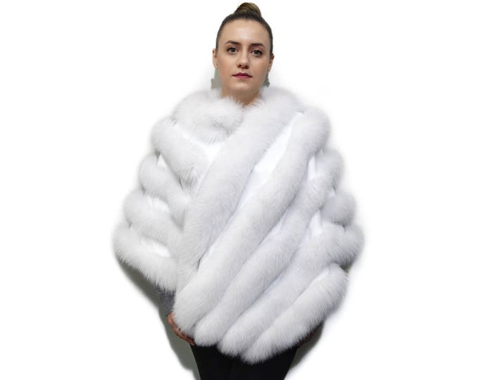 Luxury Fox Fur Coat F763