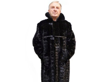 Mink Coat For Men F720