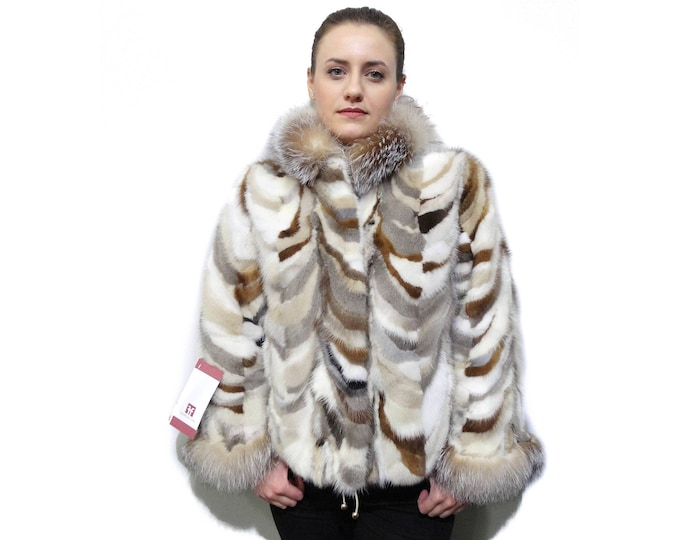 Colorful Fashion Fur Coat F807
