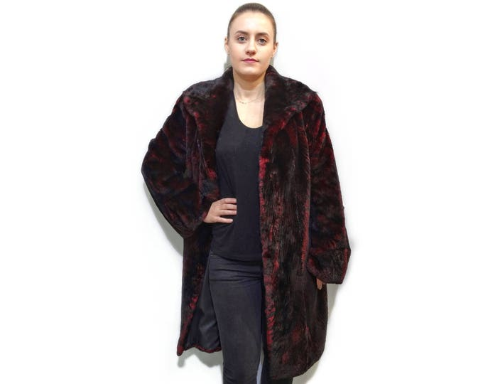 Real Long Beaver Fur Coat F708