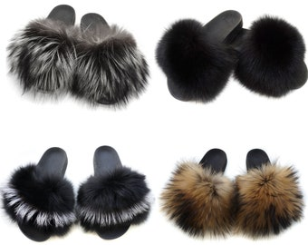 Fur Color in different colors for Slides F878