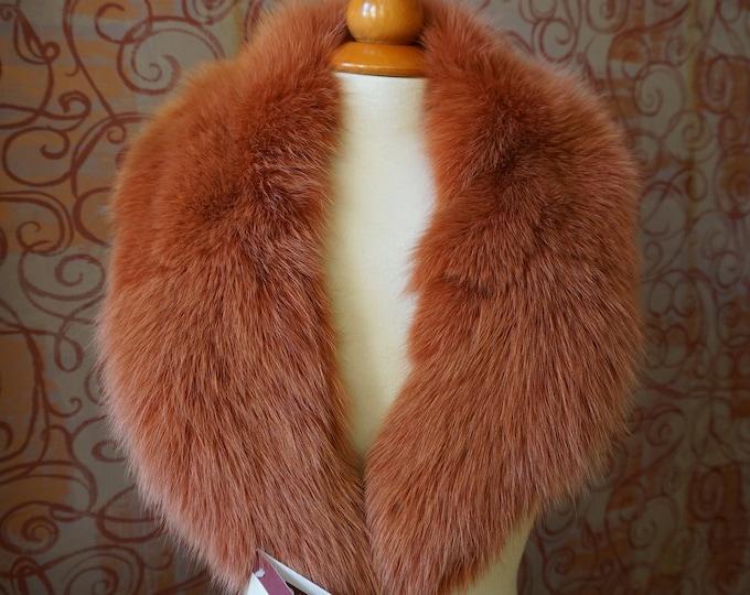 Fox Fur Collar F665
