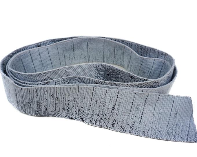Leather Belt, Gray Belt F1022