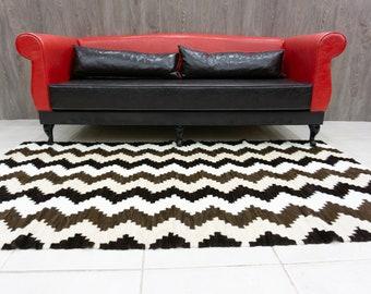 Mink Fur Carpets Rhombus Design, Fur Mink,Real Fur Carpets, Housewarming gift