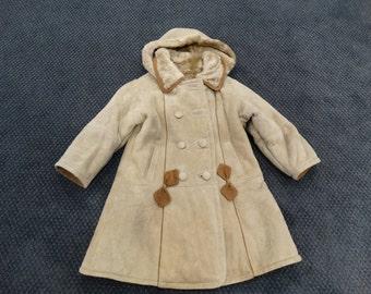 Mouton Jacket,Real Fur Coat For Children F215