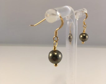 683 Pyrite earrings S