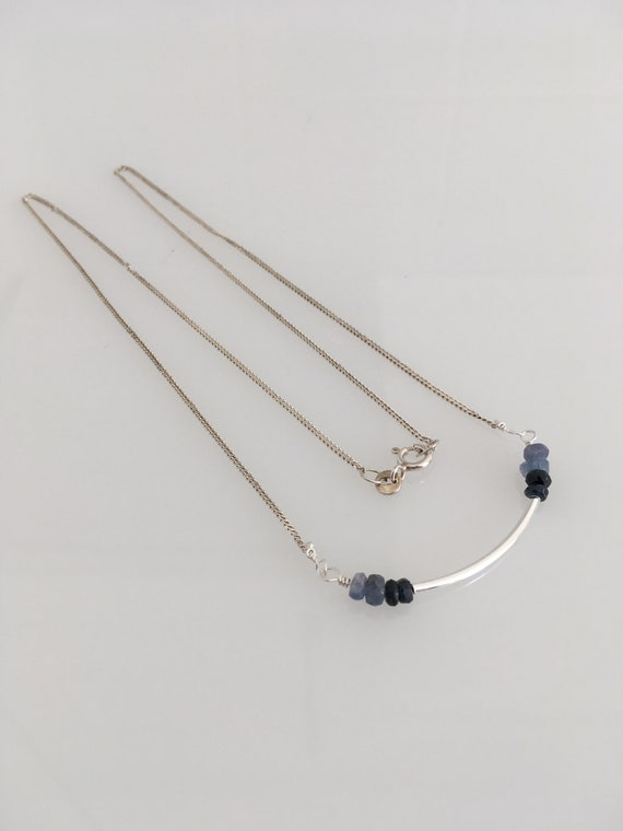 S - 651 Sapphire necklace