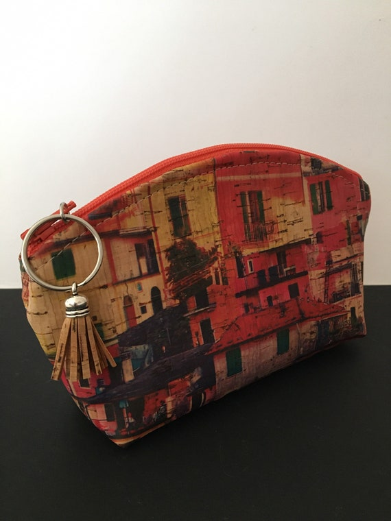 S - 094 Portuguese cork cosmetics bag