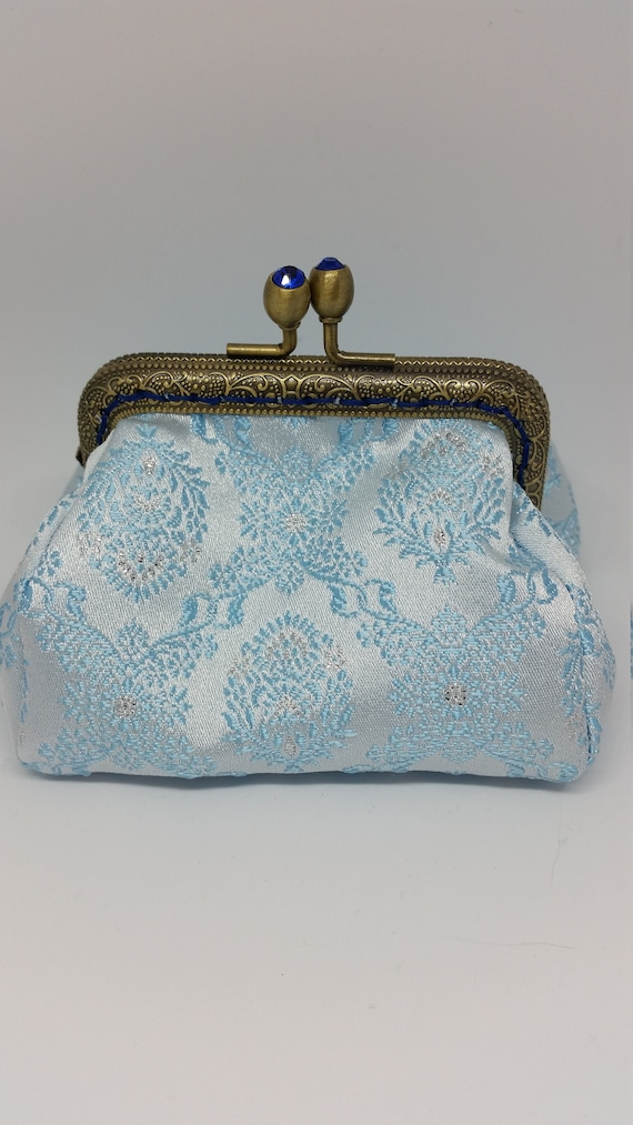 CP600. The Bridal satin coin purse.