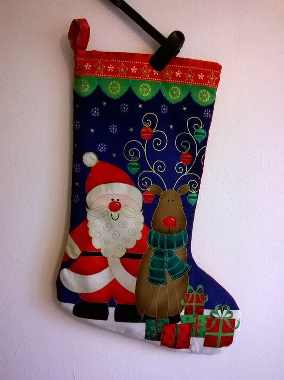 SL 9 Christmas stocking