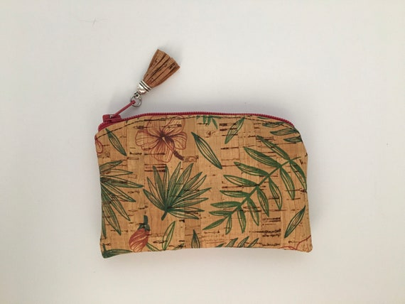 S - 079 Coin purse/card wallet in Portuguese cork.