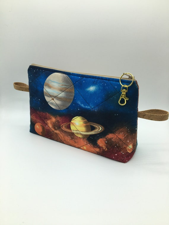 S - 064 Mens toiletries/washbag featuring planets