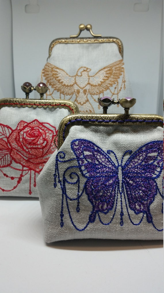 CP675.  Natures mystique coin purses