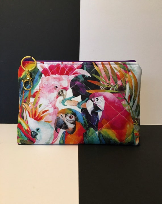 S - 107 Exotic birds wash bag