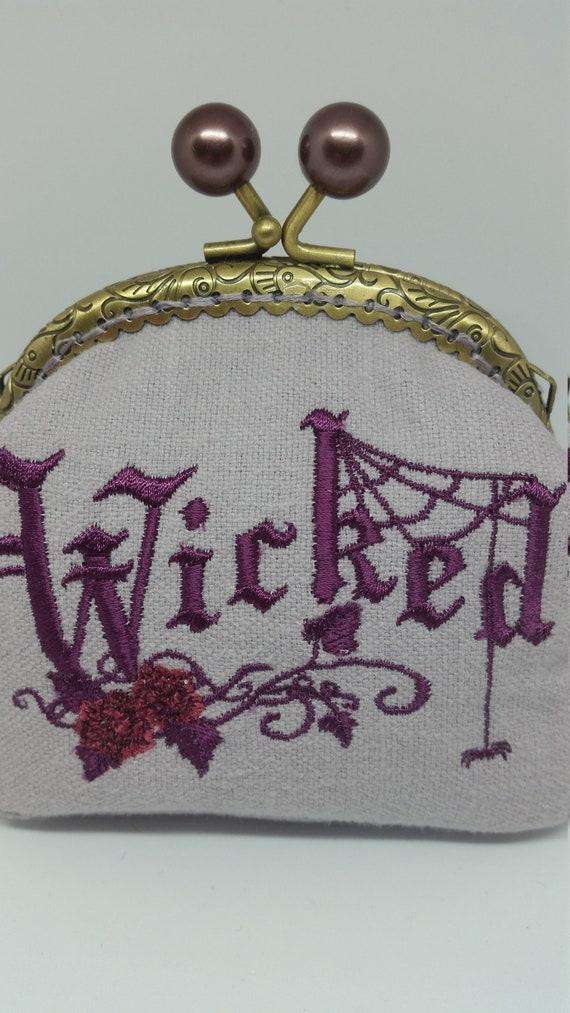 CP625.  Wicked design coin purse.