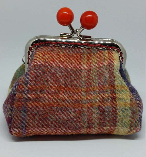 CP590. Wool tweed coin purse