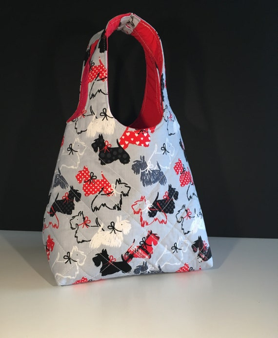 S - 662 Toddlers shopper - Scottie dogs