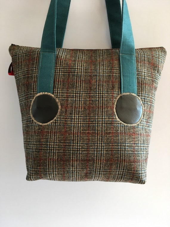 S - 596 Fashion, fabric shoulder bag