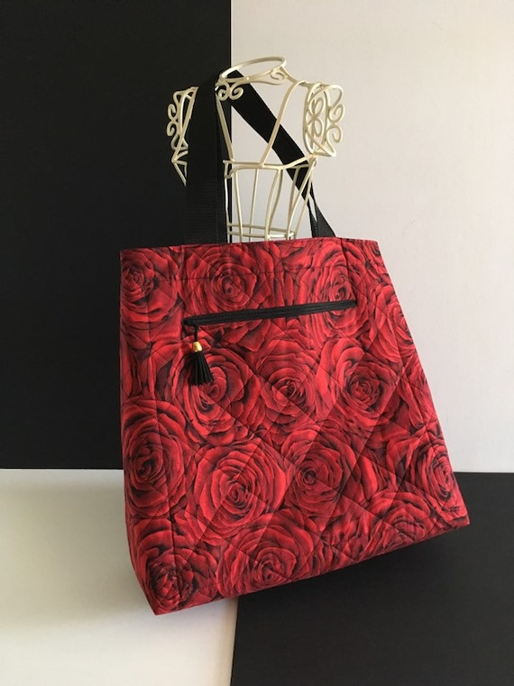 S - 876 Roses design big bag