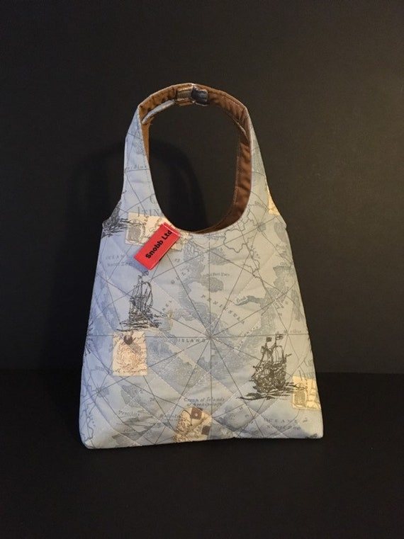 LB003 - Map lunch bag