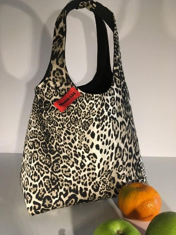 S - 668 lunch bag - leopard design