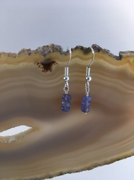 S - 677 Tanzanite earrings