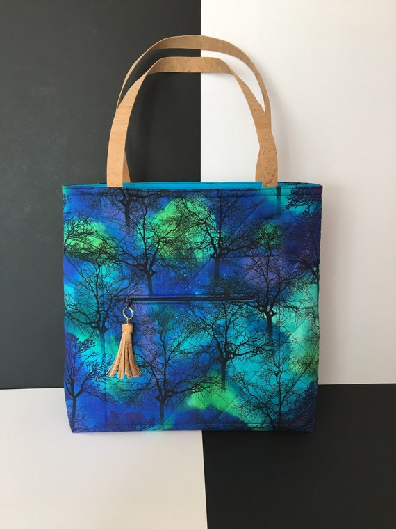 SB020 Northern lights shopper! Love the Northern lights? Then this posh shopper is for you!