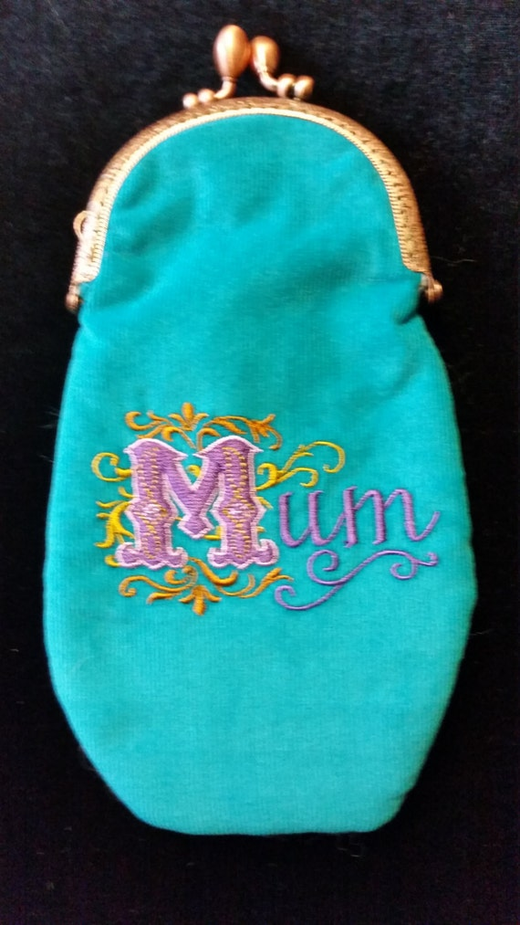 L339.  Glasses case with Mum