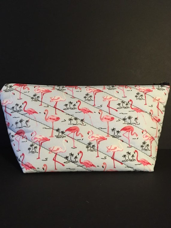 S - 763 Flamingo makeup bag