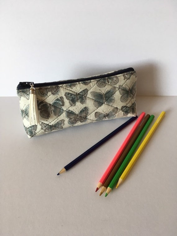 SC005 - Butterflies pencil/makeup brush case