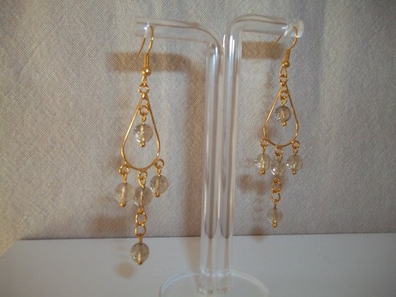 S -156 SALE Chandelier drop earrings