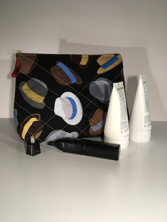 S - 667 Mens toiletries bag - hats design