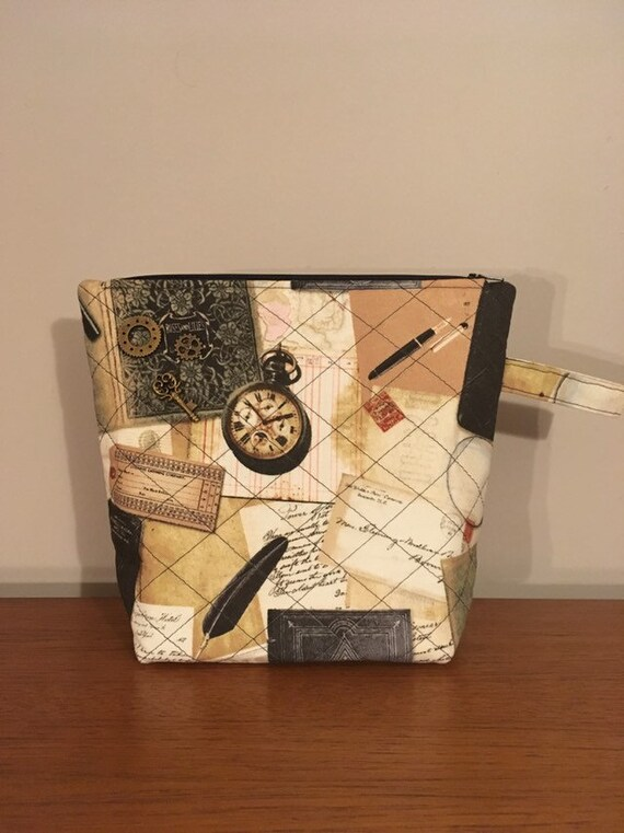 S - 753 Men's steampunk wash bag