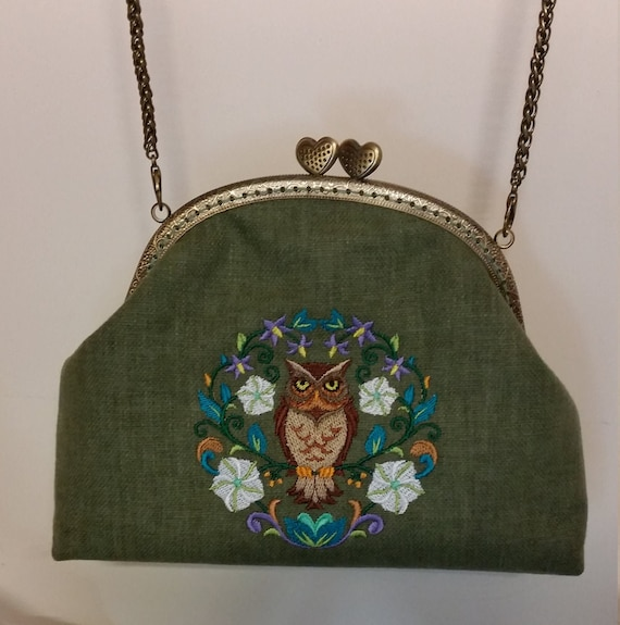 B673.   THe Owl Symmetry Bag