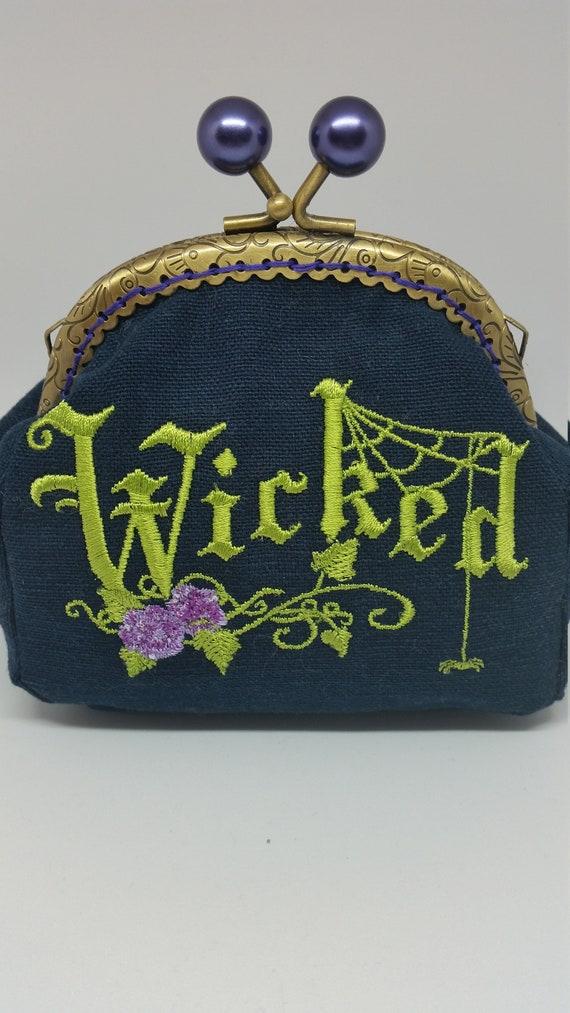 CP627.  The wicked design coin purse.