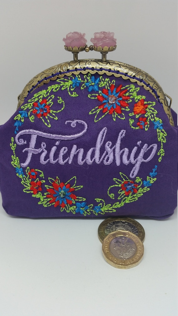 CP623.  Friendship design coin purse.