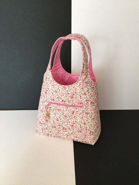 S - 084 Toddlers shopper/lunch bag with front, zipped pocket