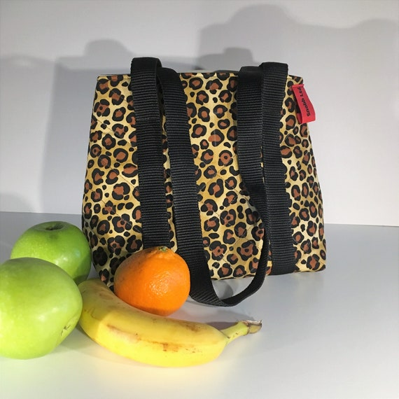 S - 671 Lunch bag - Strapped leopard