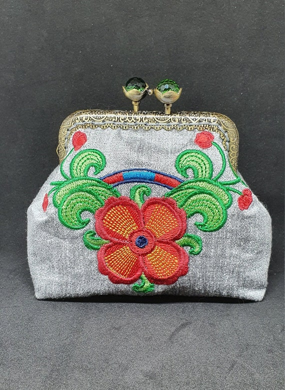 CP706.       Suzani design purses