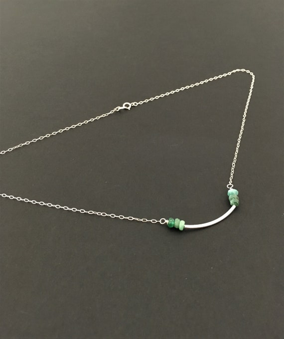 S - 653 Emerald necklace