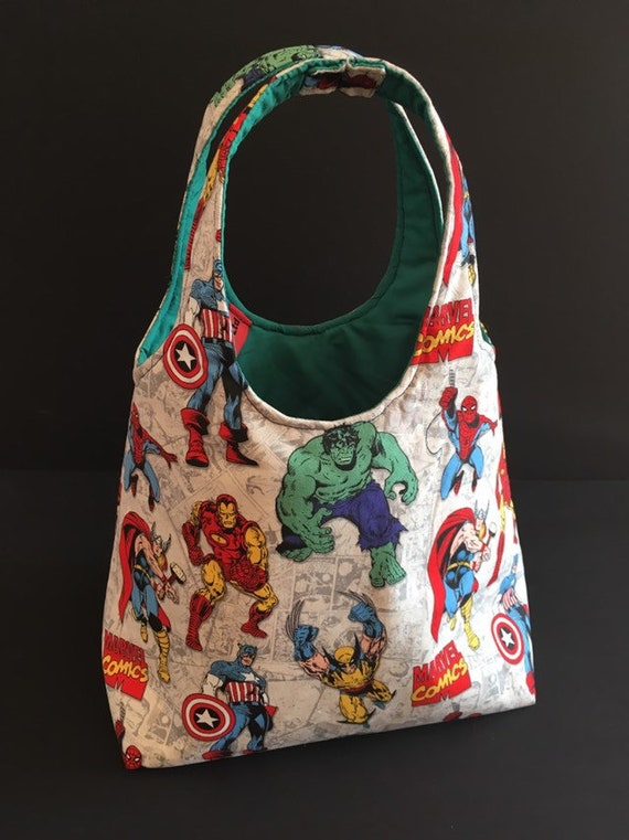S - 694 Toddlers shopper/ lunch bag - marvel super heroes